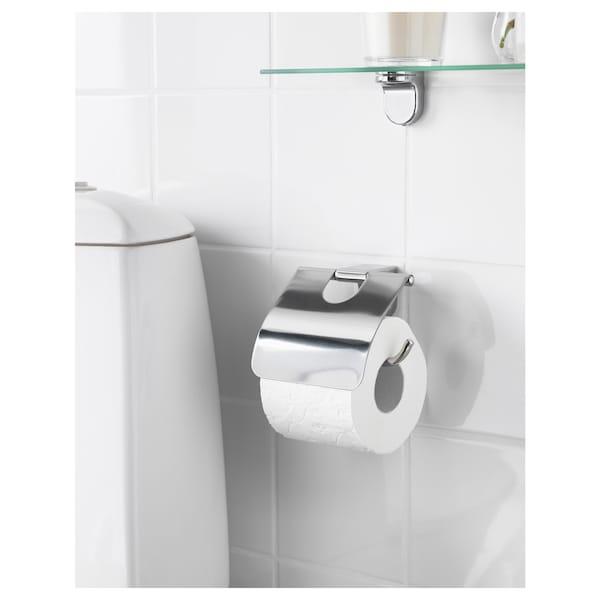 KALKGRUND Toalettrullehållare, förkromad