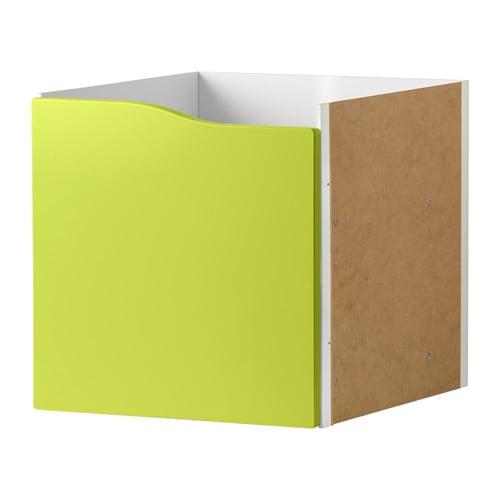 KALLAX Insats med dörr ljusgrön IKEA