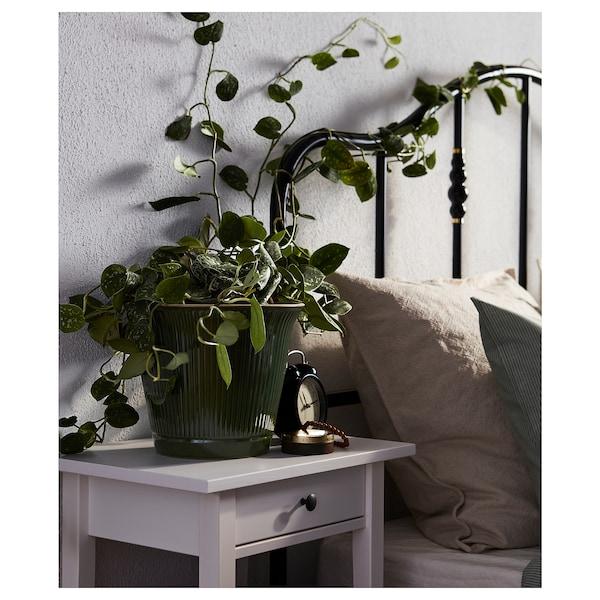 KAMOMILL Kruka, inom-/utomhus grön, 19 cm