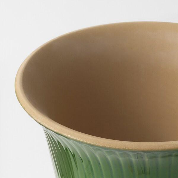 KAMOMILL Kruka, inom-/utomhus grön, 15 cm