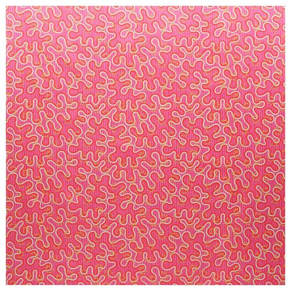 KARISMATISK Avpassad tyglängd, blandade mönster rosa, 150x300 cm