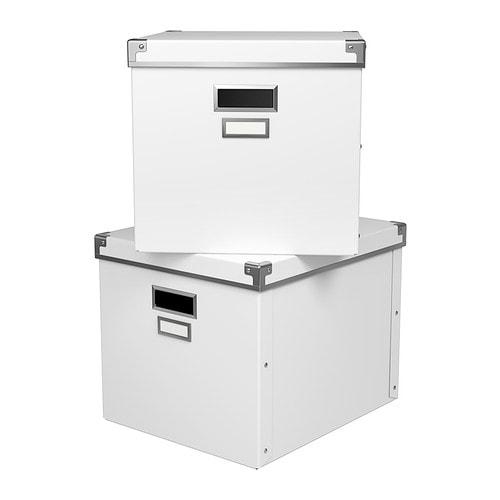 KASSETT Låda med lock IKEA I den här lådan kan du förvara dina tidningar, tidskrifter, foto eller andra minnessaker.