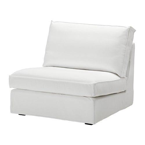 KIVIK 1-sits sektion IKEA KIVIK är en rymlig soffserie där du sitter mjukt, djupt och med bekvämt stöd för ryggen.