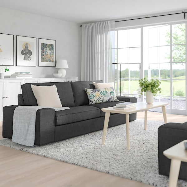 KIVIK 3-sits soffa, Hillared antracit