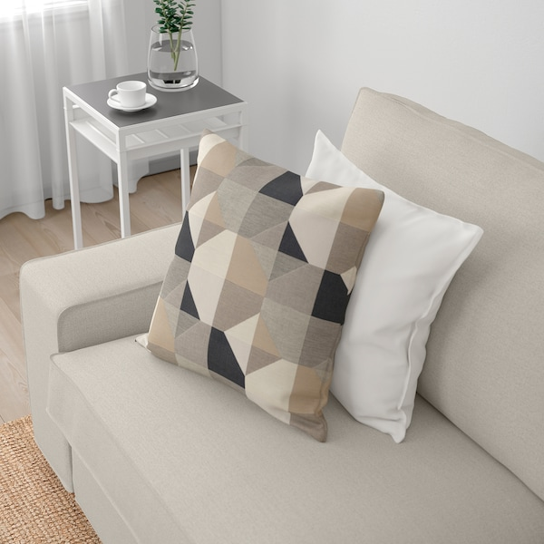 KIVIK 4-sitssoffa med schäslong, Gunnared beige