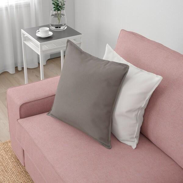 KIVIK 4-sitssoffa med schäslong, Gunnared ljus brunrosa