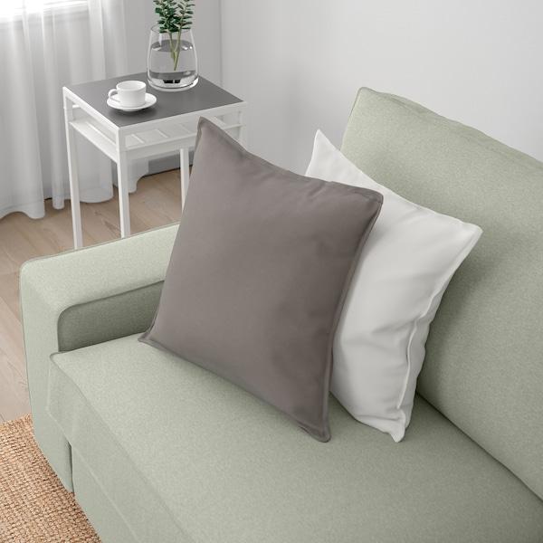 KIVIK 4-sitssoffa med schäslong, Gunnared ljusgrön