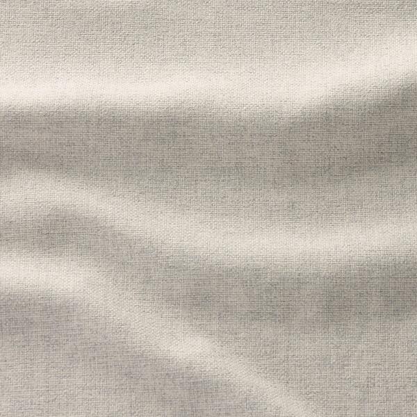 KIVIK Klädsel fotpall med förvaring, Gunnared beige