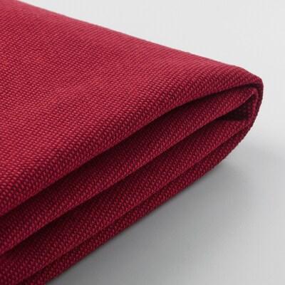 KIVIK Klädsel fotpall med förvaring, Orrsta röd