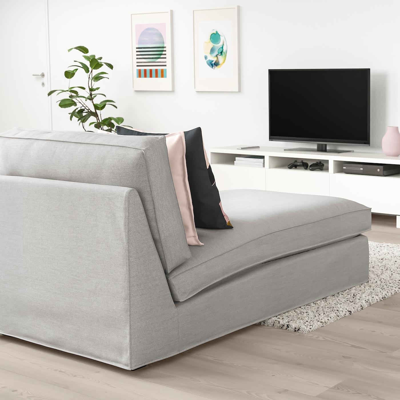 KIVIK Schäslong, Orrsta ljusgrå IKEA