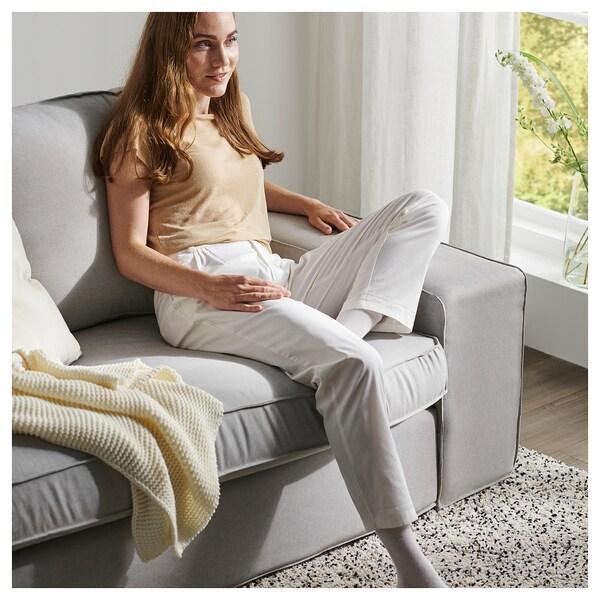 KIVIK U-formad soffa, 6-sits, Orrsta ljusgrå