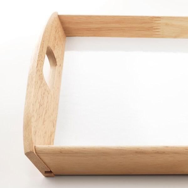 KLACK Bricka, gummiträ, 38x58 cm