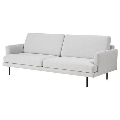 KLINTORP 3-sitssoffa, off-white
