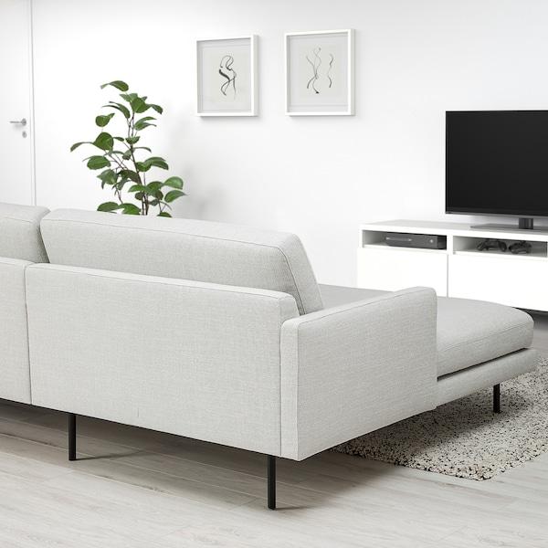 KLINTORP 4-sitssoffa med schäslong, höger off-white 84 cm 65 cm 333 cm 154 cm 84 cm 20 cm 61 cm 333 cm 60 cm 45 cm