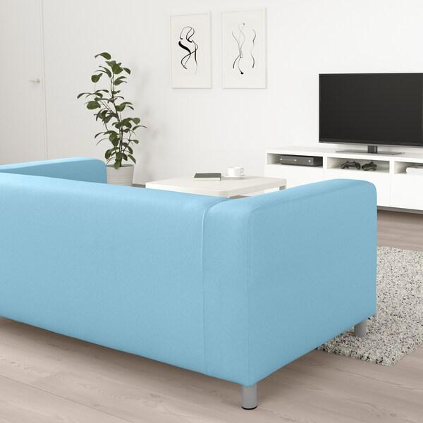 KLIPPAN 2-sitssoffa, Vissle ljusblå