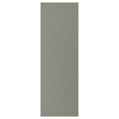 KLUBBUKT Dörr med gångjärn, grågrön, 60x180 cm
