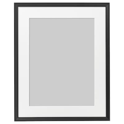 KNOPPÄNG Ram, svart, 40x50 cm