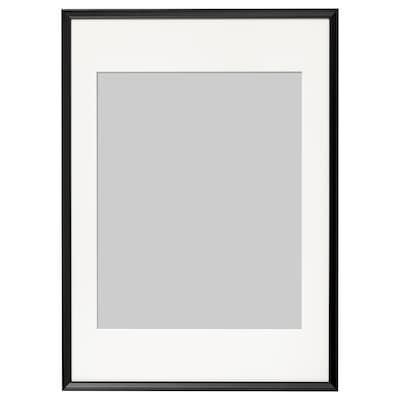 KNOPPÄNG Ram, svart, 50x70 cm
