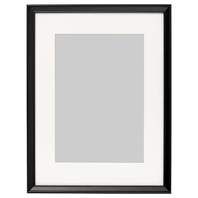 KNOPPÄNG Ram, svart, 30x40 cm