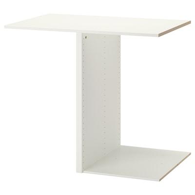 KOMPLEMENT Avdelare för stommar, vit, 100x58 cm
