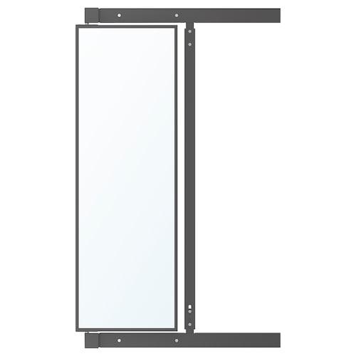 IKEA KOMPLEMENT Utdragbar spegel med krokar