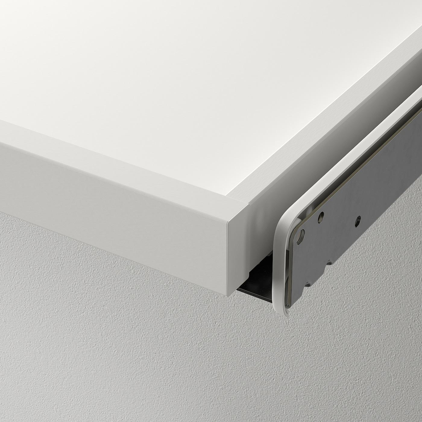 KOMPLEMENT Utdragbart hyllplan med insats, vit, 100x58 cm