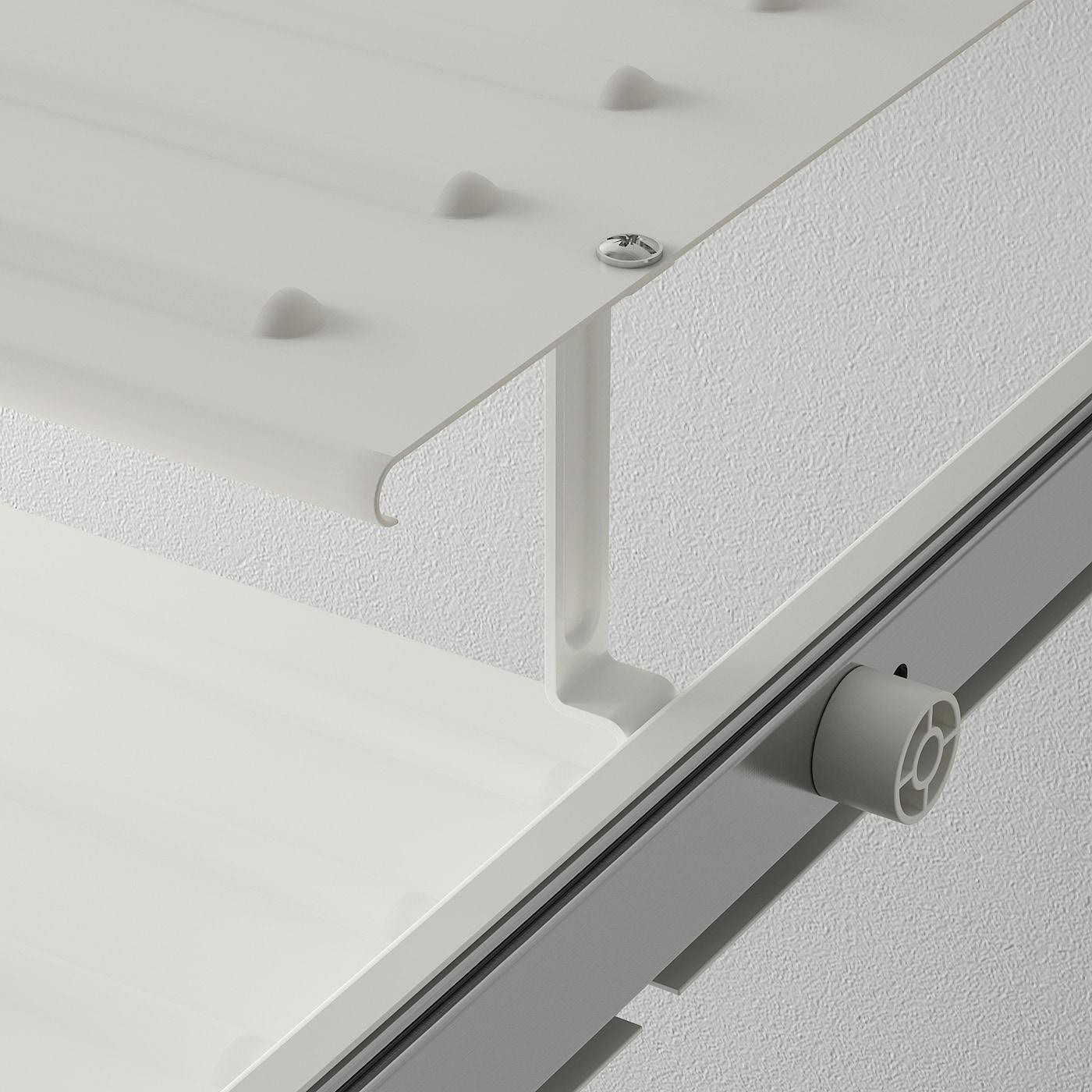 KOMPLEMENT Utdragbart skohyllplan, vit, 100x58 cm