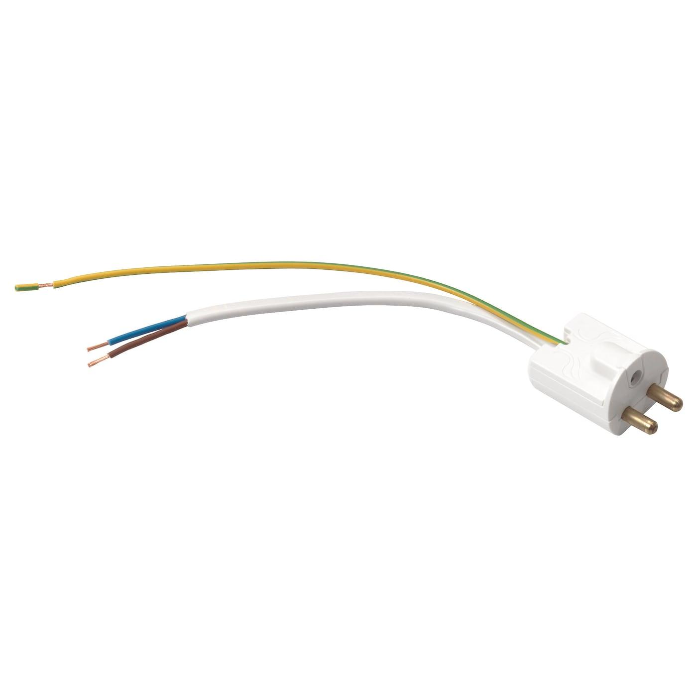 KOPPLA Lamppropp med kabel och kåpa, jordad, vit IKEA