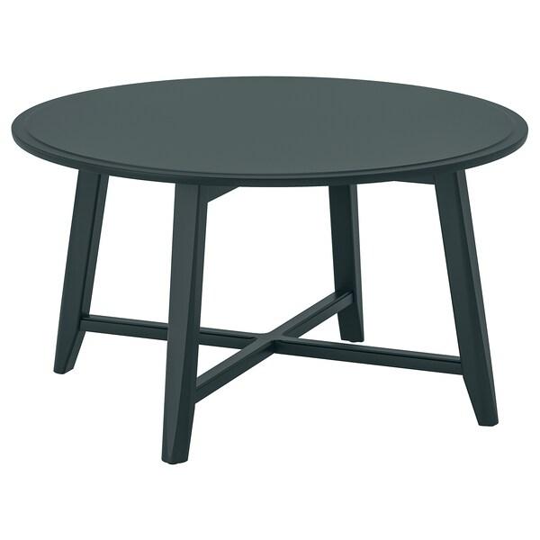 KRAGSTA soffbord mörk blågrön 48 cm 90 cm