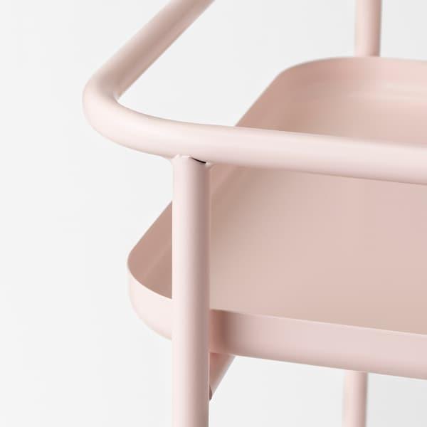 KRYDDPEPPAR Piedestal, inom-/utomhus rosa, 54 cm