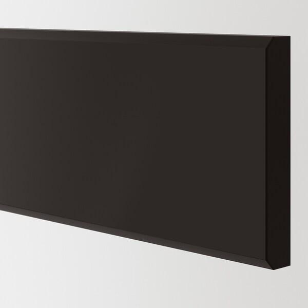 KUNGSBACKA Lådfront, antracit, 40x10 cm