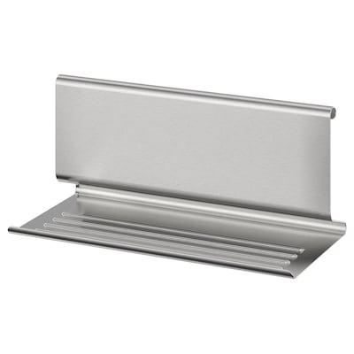 KUNGSFORS Ställ för surfplatta, rostfritt stål, 26x12 cm