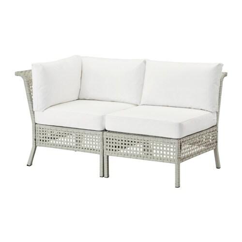 ikea skåp utomhus ~ kungsholmen  kungsÖ 2sits soffa, utomhus  ljusgråvit