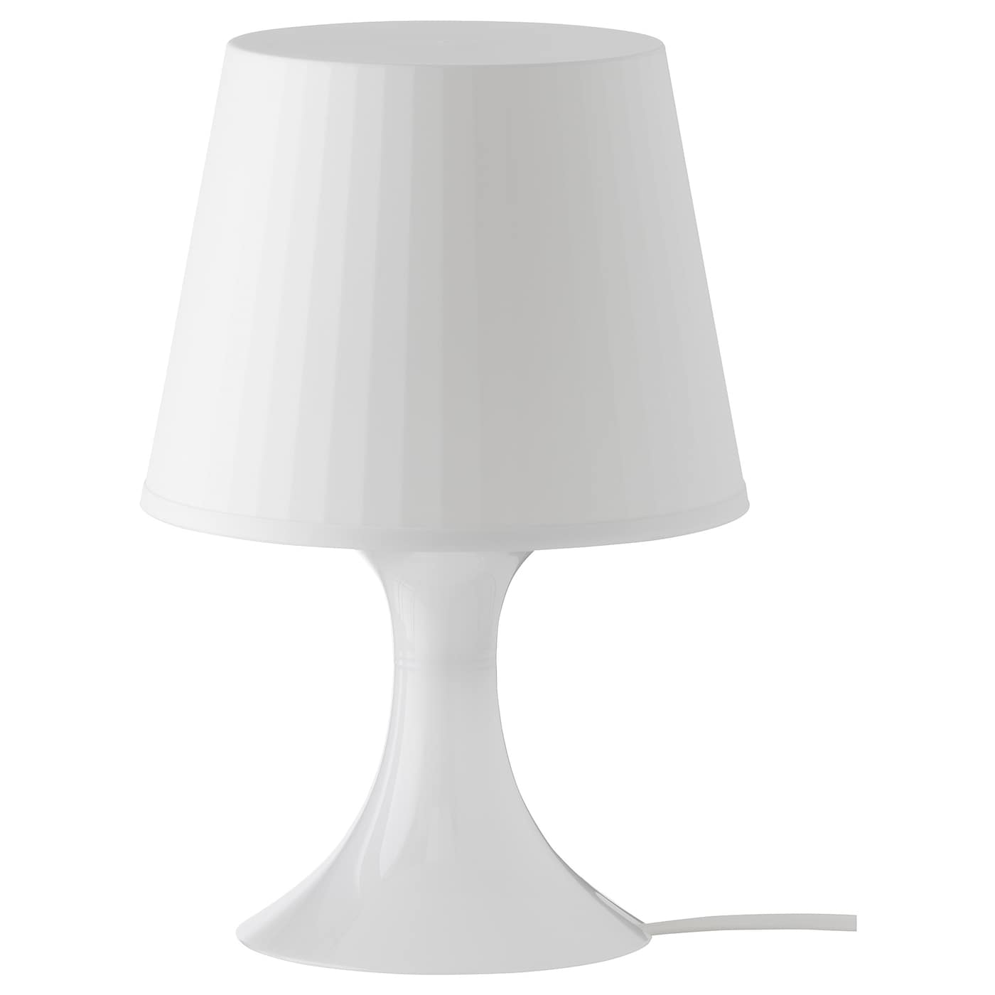 LAMPAN Bordslampa vit 29 cm