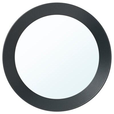 LANGESUND Spegel, mörkgrå, 25 cm