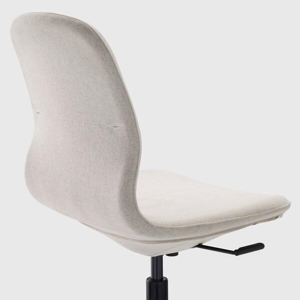 LÅNGFJÄLL Konferensstol, Gunnared beige/svart