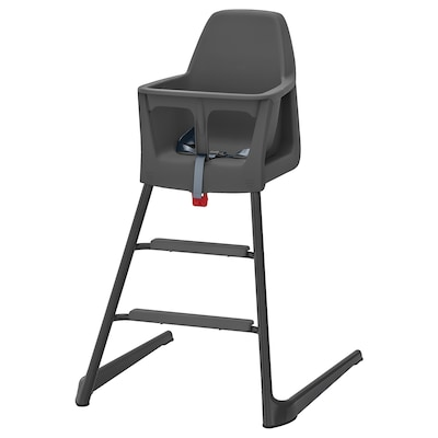 LANGUR junior-/barnstol grå 56 cm 61 cm 87 cm 22 cm 21 cm 56 cm