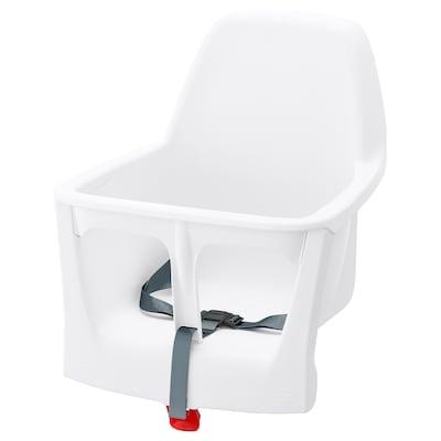 LANGUR sittskal för barnstol vit 35 cm 37 cm 40 cm 22 cm 21 cm 15 kg