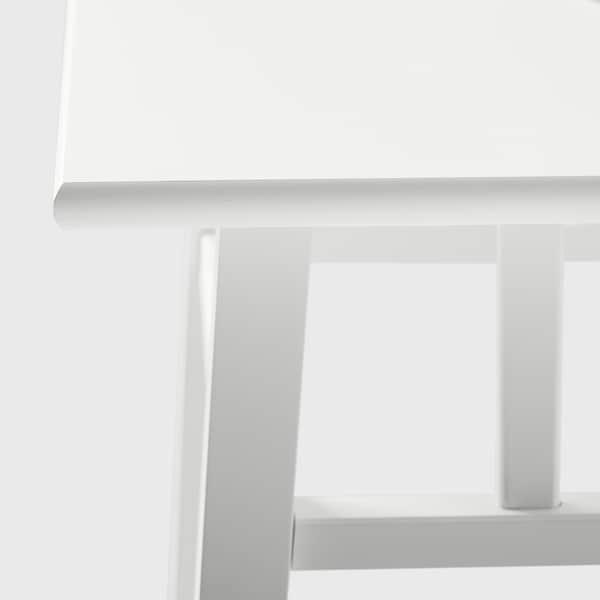 LANTLIV Piedestal, vit, 78 cm