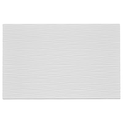 LAXVIKEN Dörr/lådfront, vit, 60x38 cm