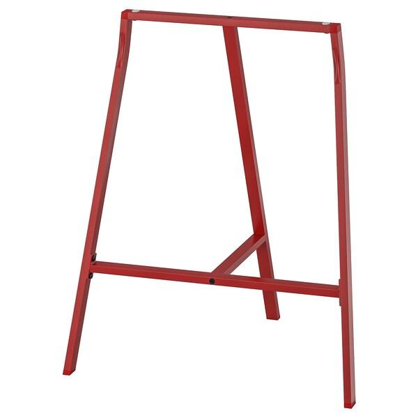 LERBERG benbock röd 60 cm 39 cm 70 cm 50 kg