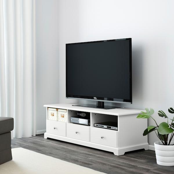 LIATORP Tv-bänk, vit, 145x49x45 cm