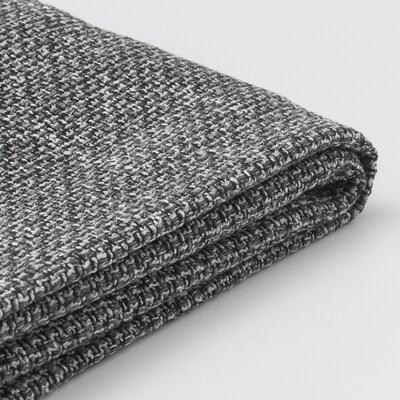 LIDHULT Klädsel till schäslongsektion, Lejde grå/svart