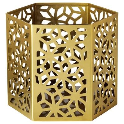 LJUVARE Värmeljushållare, guldfärgad, 10 cm