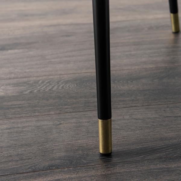 LÖVBACKEN Sidobord, mellanbrun, 77x39 cm