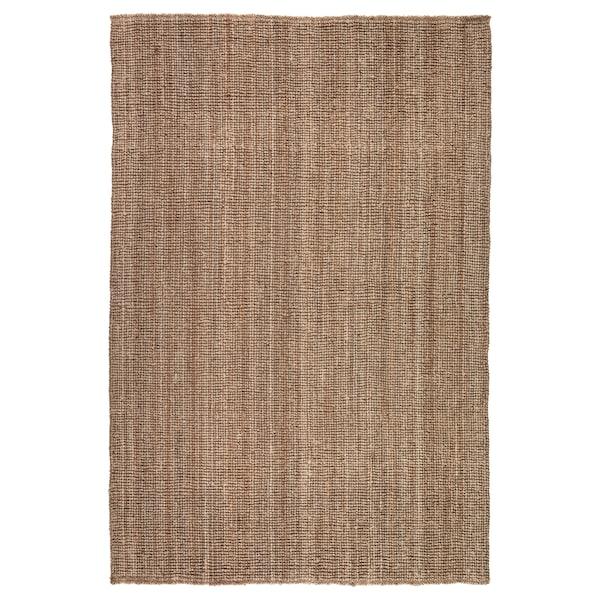 LOHALS matta, slätvävd natur 230 cm 160 cm 13 mm 3.68 m² 3200 g/m²