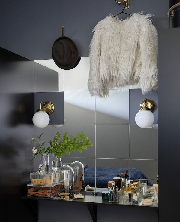LOTS Spegel, 30x30 cm