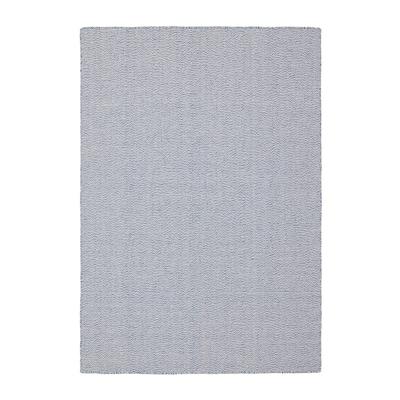 LOVRUP Matta, slätvävd, handgjord blå, 133x195 cm