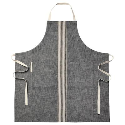 MARIATHERES Förkläde, grå, 90x92 cm