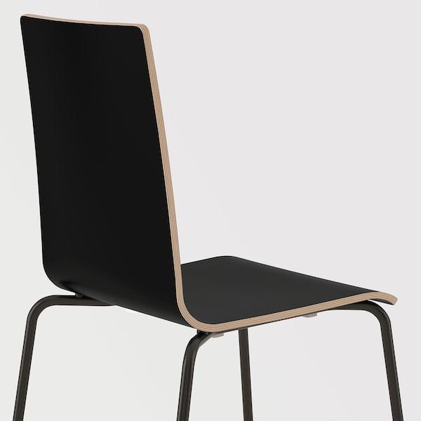 MARTIN Stol, svart, svart IKEA